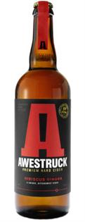 Awestruck Hard Cider Hibiscus Ginger 750ml - Case of 12